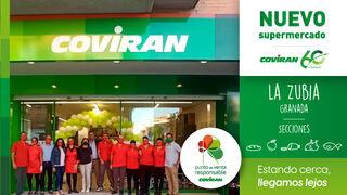 Covirán inaugura un nuevo supermercado en La Zubia (Granada)