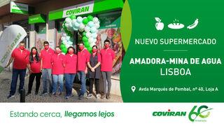 Covirán crece en Portugal con un nuevo supermercado en Lisboa