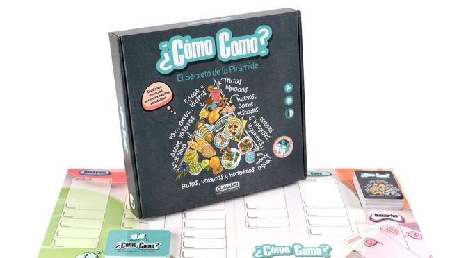 Alcampo lanza '¿Cómo como?', un juego de mesa sobre la buena alimentación