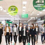 Mercadona invierte 30 millones en su primer año de estrategia 6.25 contra el plástico