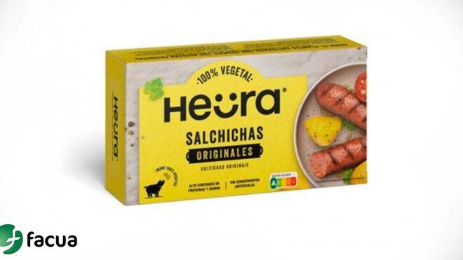 Alerta sanitaria: retiran del mercado salchichas vegetales de Heura por contener gluten sin declarar