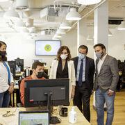 Glovo inaugura en Madrid su nuevo hub tecnológico
