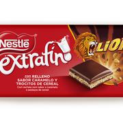 Nestlé amplía su catálogo con la nueva tableta de chocolate Extrafino Lion