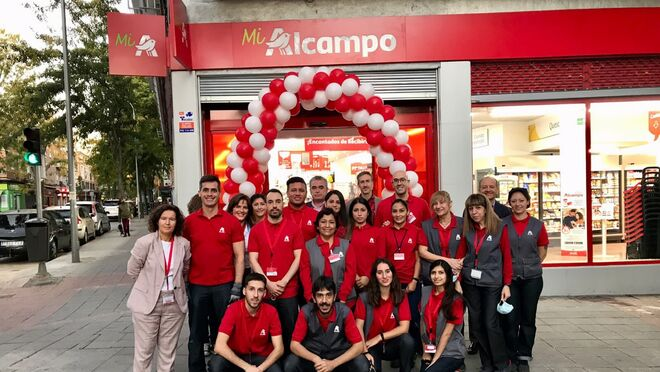 Alcampo abre un nuevo supermercado en el barrio de Vallecas (Madrid)