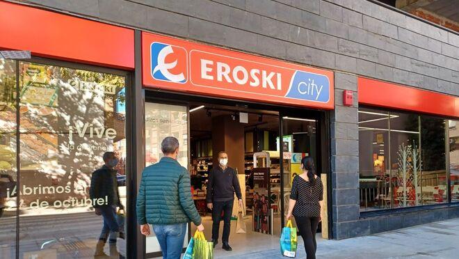 Eroski abre nuevos supermercados en Vitoria y Arnedo (La Rioja)
